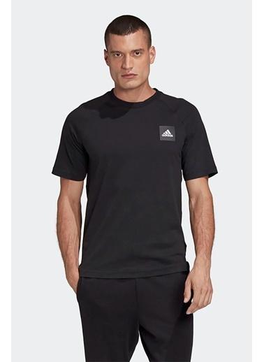 adidas Adidas Erkek Günlük T-Shirt Mhe Tee Sta Fl4003 Siyah